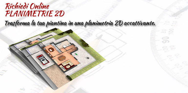 architetto on line servizio planimetrie 2d online
