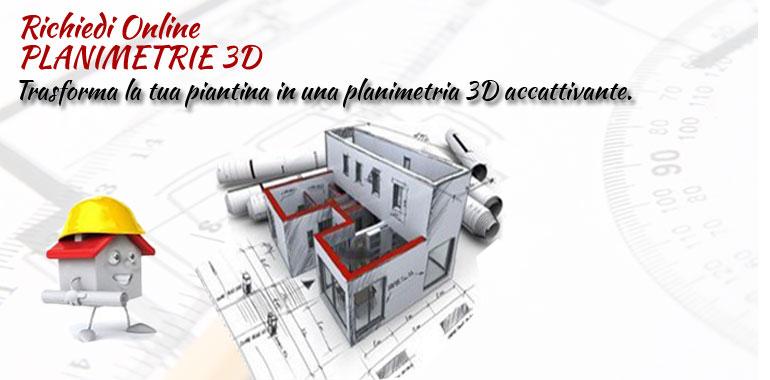 architetto on line servizio palnimetrie 3d online