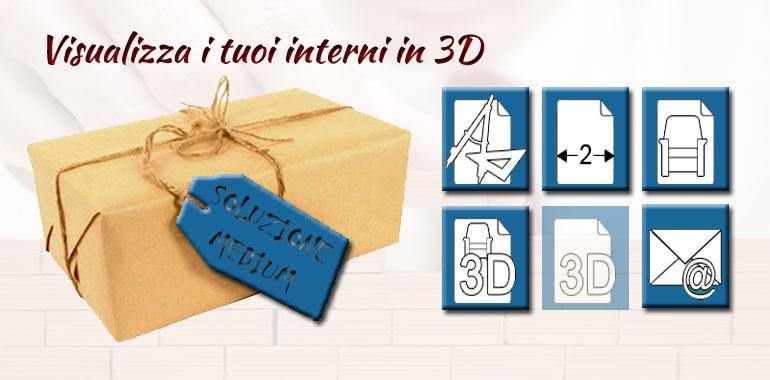 Progetto d'interni online low cost