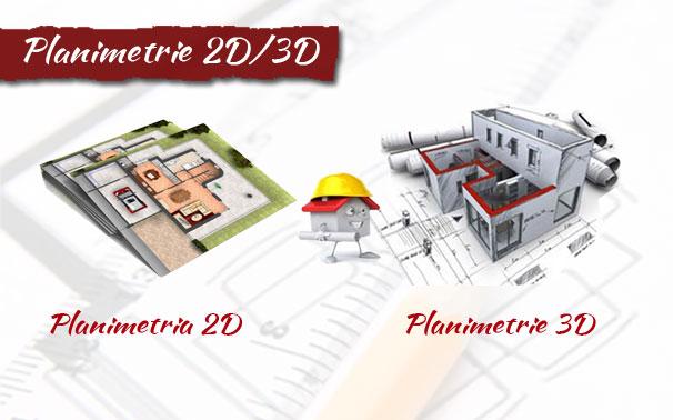 planimetrie 3D online